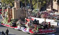 The Downton Abbey Float: On the Rose Parade Route