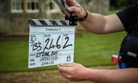 Endeavour, Season 3: On Set