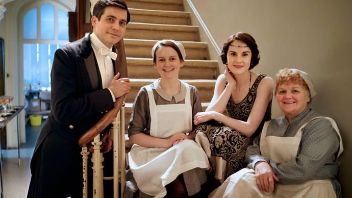 Downton Abbey Season 5 Episode 5 Behind The Scenes