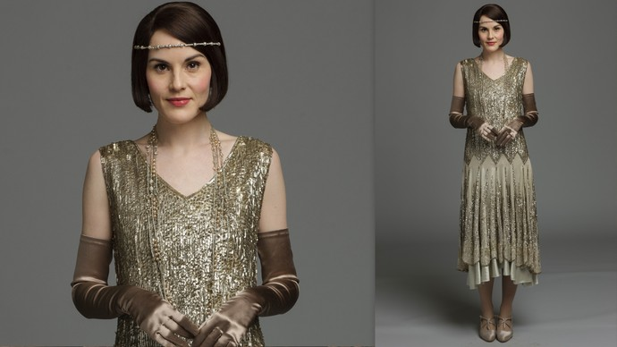 Designing downton the final season 8 episode 8 for Costume jewelry for evening gowns
