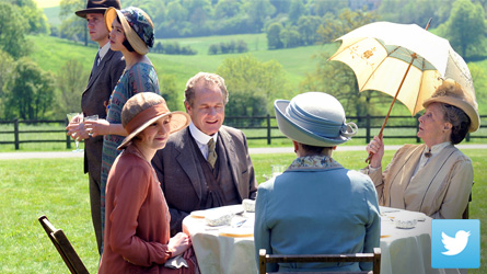 Downton Abbey Season 3 Twitter Events