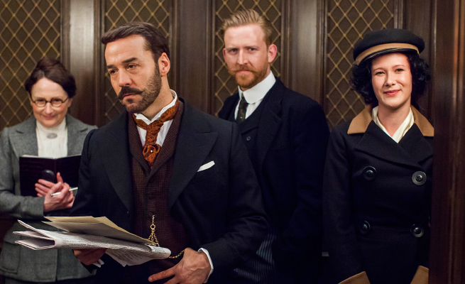 Mr. Selfridge's elevator