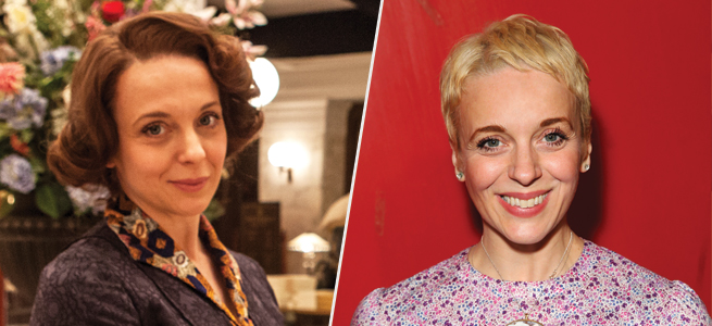 Actress Amanda Abbington