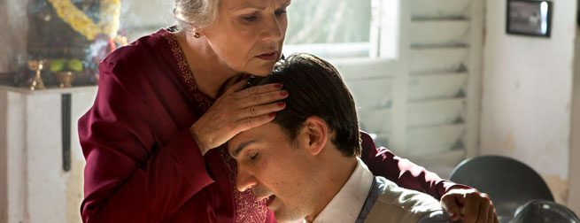Julie Walters and Henry Lloyd-Hughes