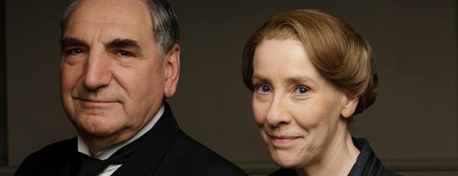 Jim Carter and Phyllis Logan