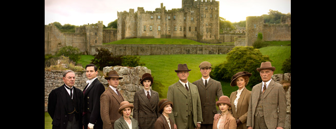 Downton Abbey Season 5 finale on location
