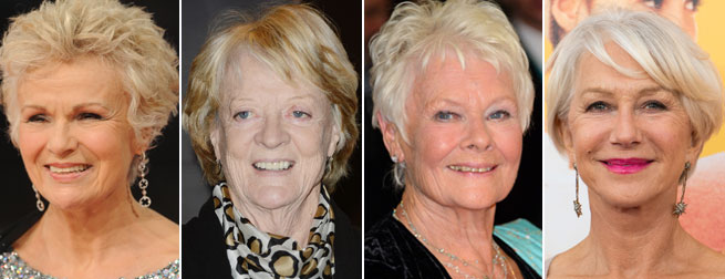 Julie Walters, Maggie Smith, Judi Dench, Helen Mirrin