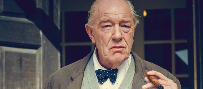 Michael Gambon as Winston Churchill