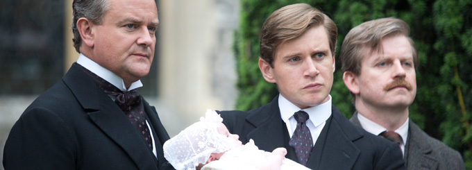Hugh Bonneville and Allen Leech