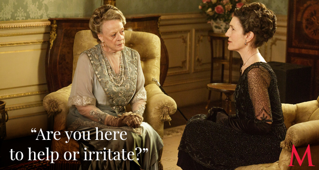 Maggie Smith and Harriet Walter