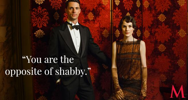 Matthew Goode and Michelle Dockery