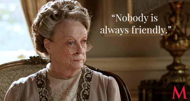Dowager Countess Quotes Downton Abbey Season 6 Recap Best Quotes From Episode 7  7 .