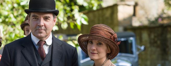 Joanne Froggatt and Brendan Coyle