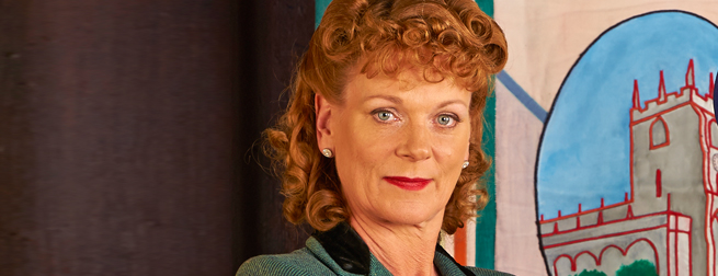 Samantha Bond in Home Fires
