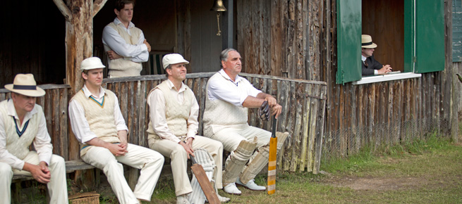 Downton Abbey cricket match