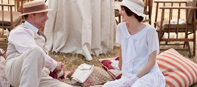 Downton Abbey picnic