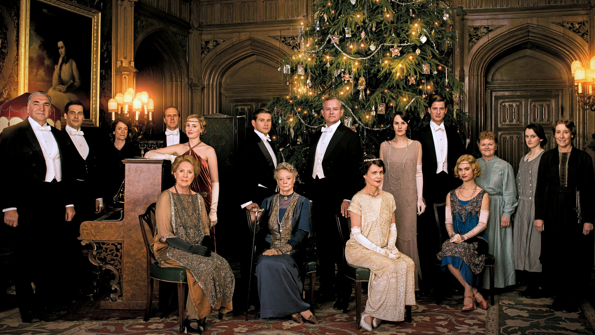 Downton abbey season 5 viewers guide to the season for Classic house voices