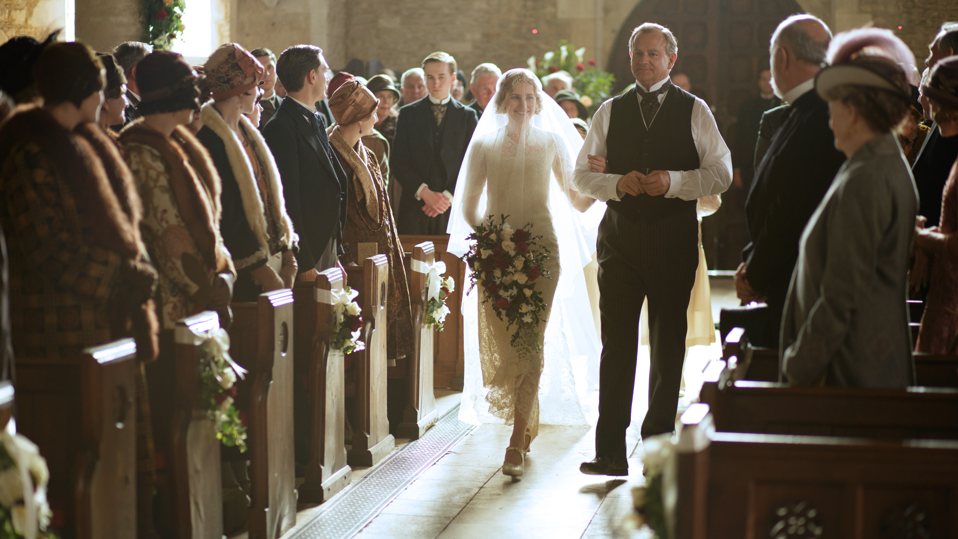 Downton Abbey Season 6 The Edith Bertie Wedding Album 9