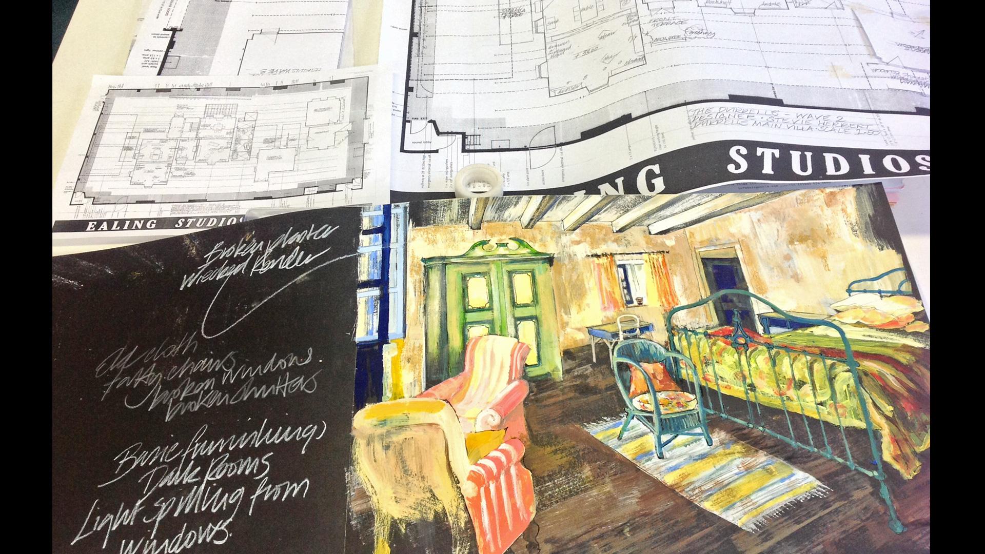 The Durrells in Corfu, Season 1: Interview: Designing the Durrells ...
