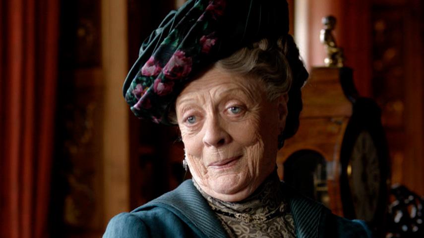 """Resultado de imagen de Maggie Smith, """"Downton Abbey"""""""