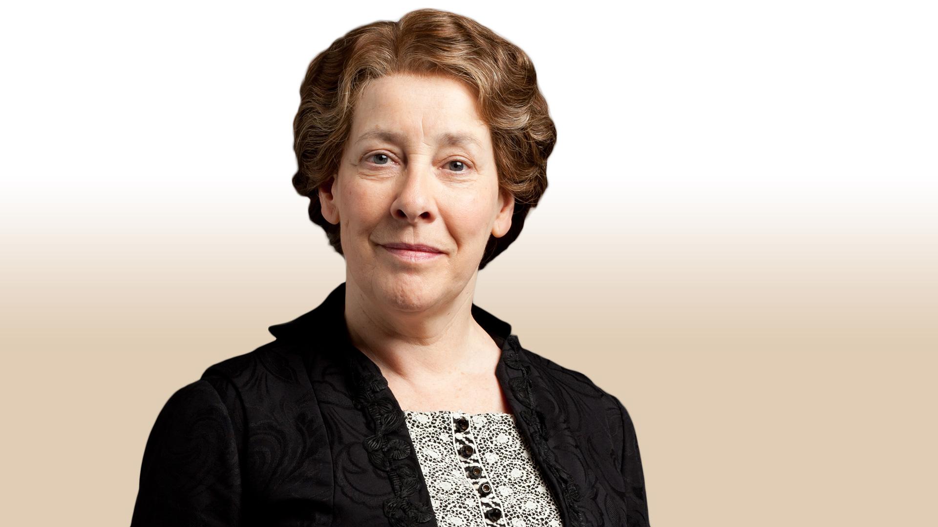 Mrs Hughes Downton Abbey