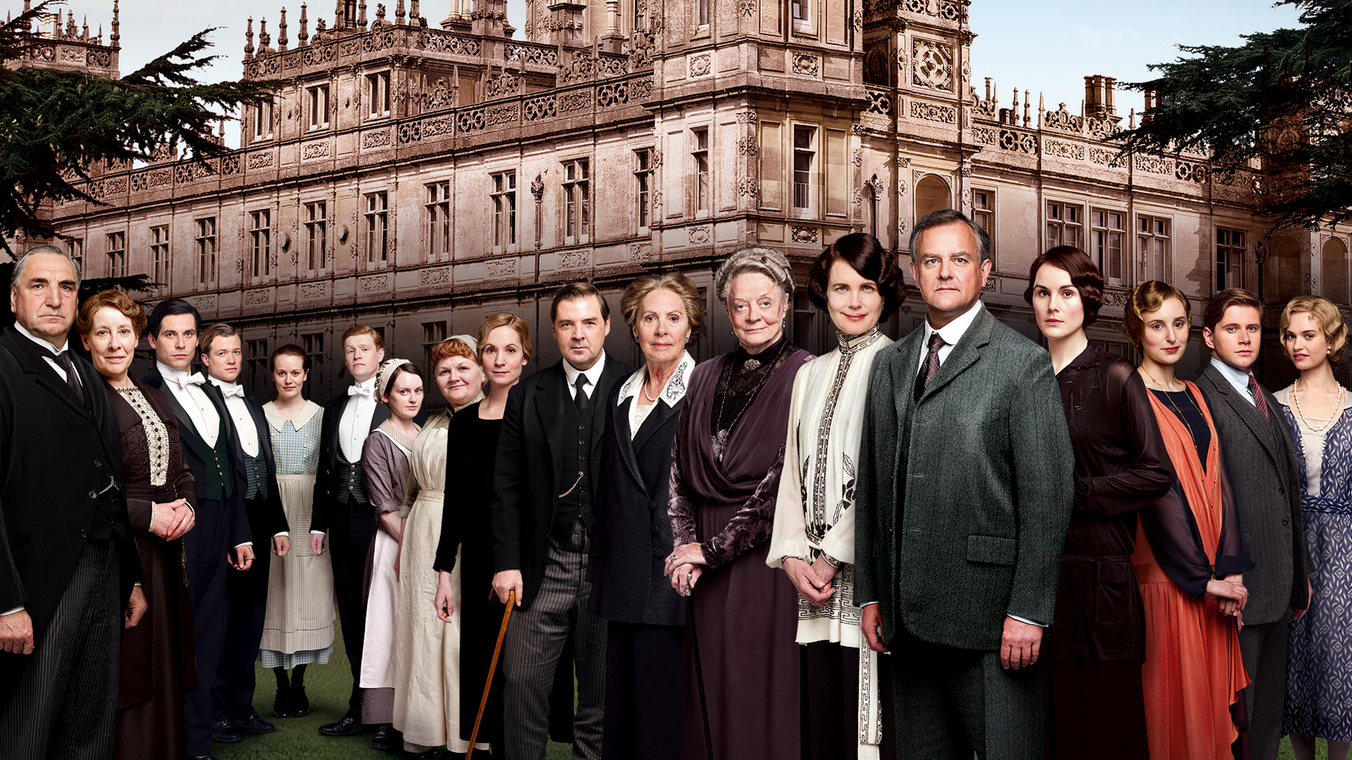Bildresultat för downton abbey