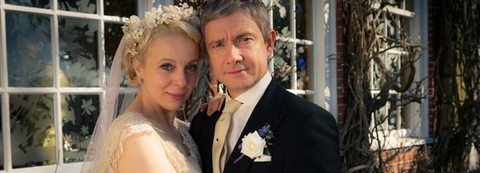 Sherlock season 3 wedding dress