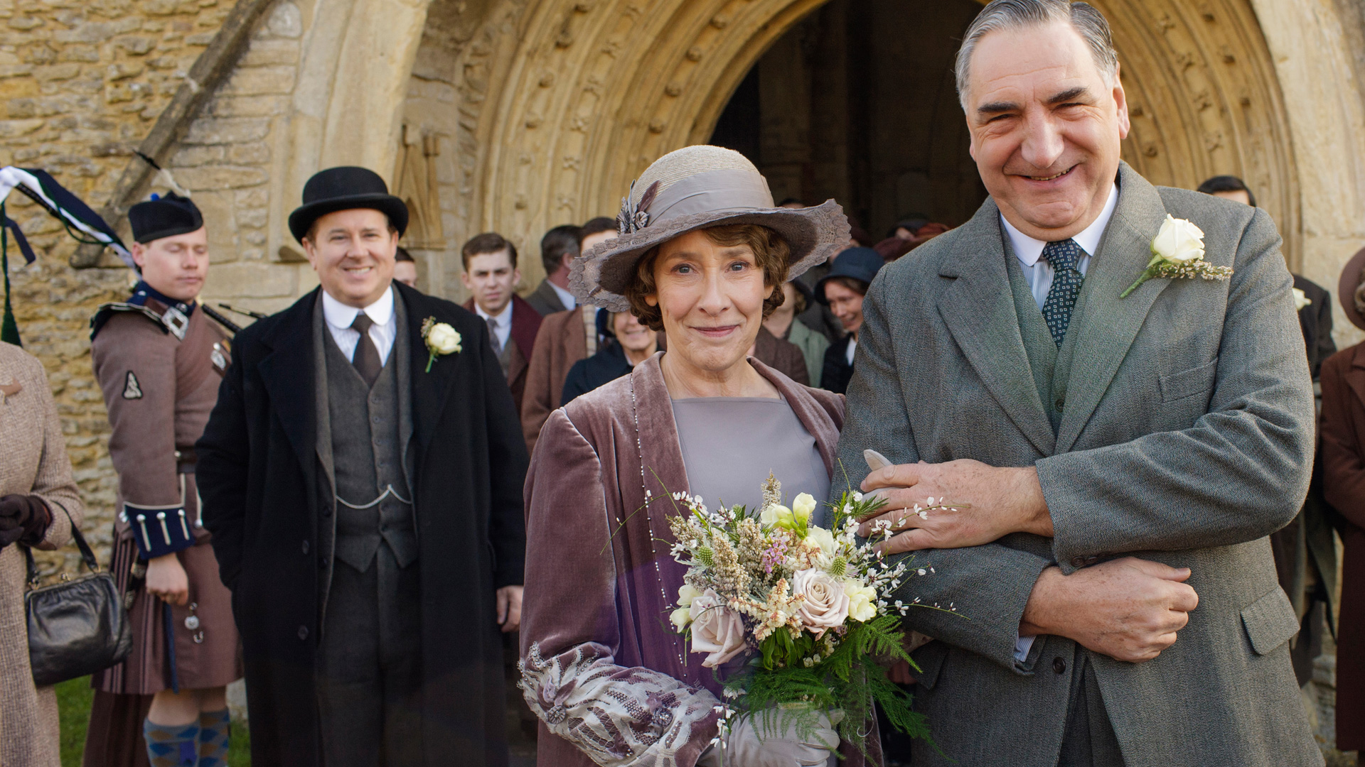 Downton Abbey, Season 6: The Carson & Mrs  Hughes Wedding Album | 3