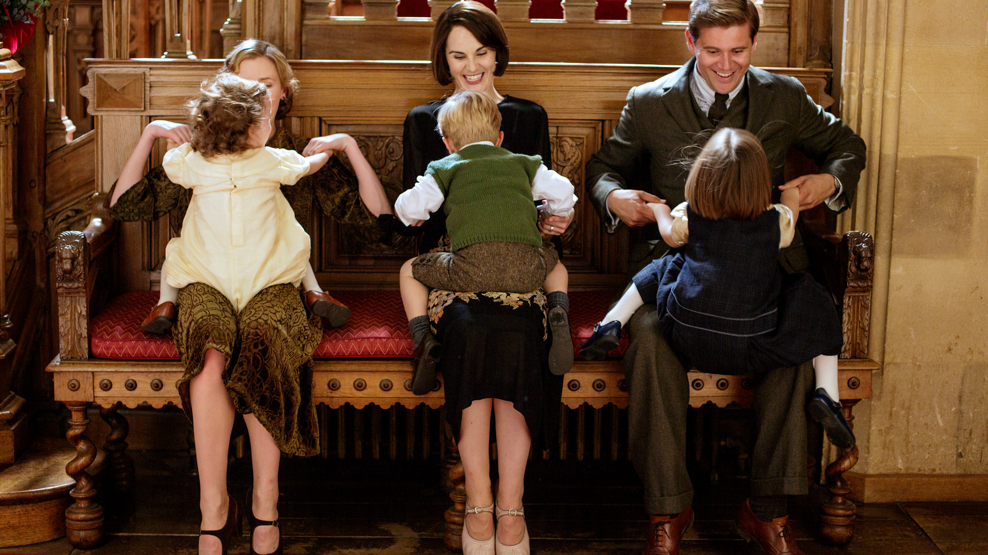Downton Abbey, Season 5: Episode 9 Behind-the-Scenes ...